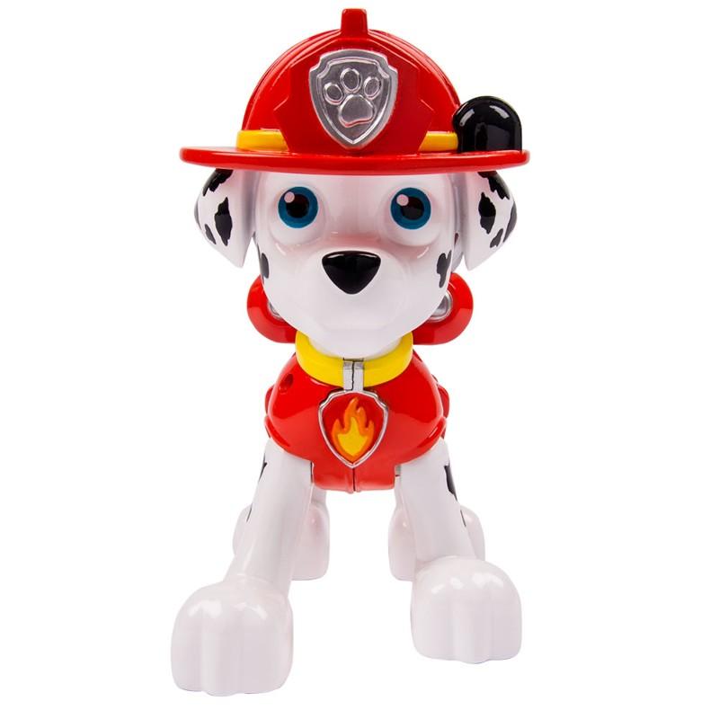 Boneco Patrulha Canina Marshall com Lançador Jumbo - Sunny