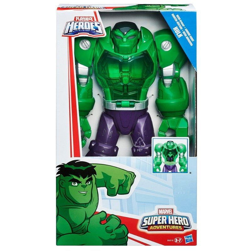 Boneco Playskool Heroes Marvel Super Hero Adventures Mega Armadura - Hasbro