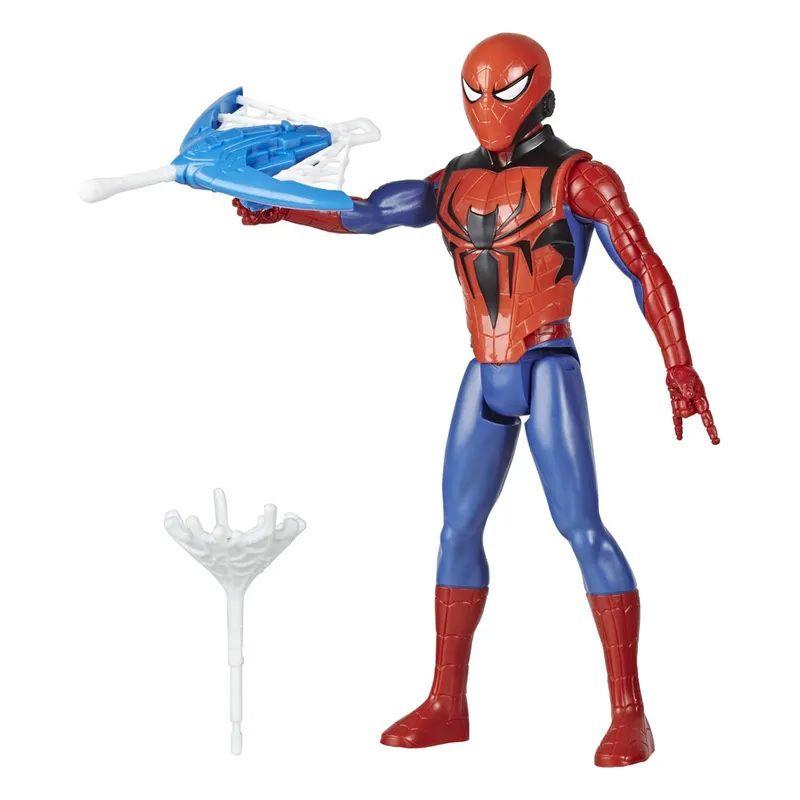Boneco Titan Hero Series Blast Gear Marvel Homem Aranha com Lançador - Hasbro