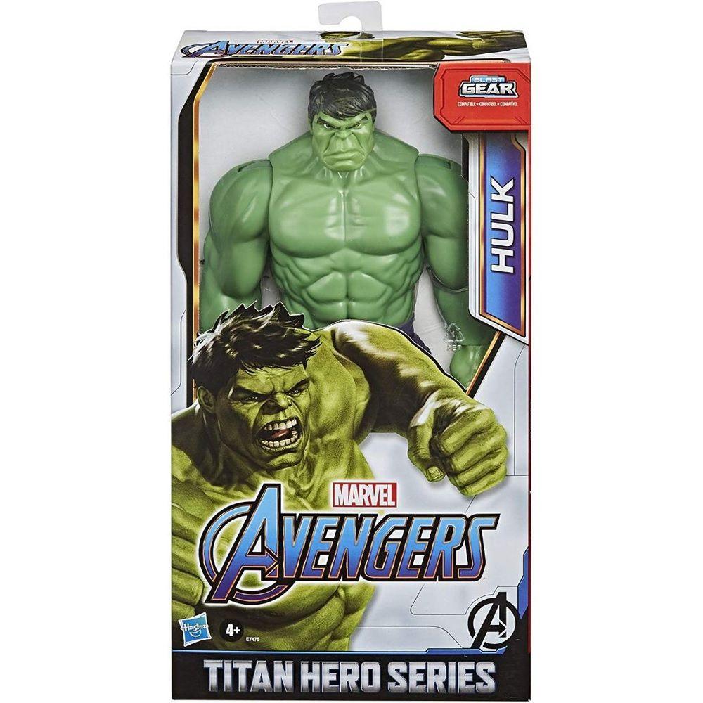 Boneco Titan Hero Series Blast Gear Marvel Vingadores Hulk - Hasbro