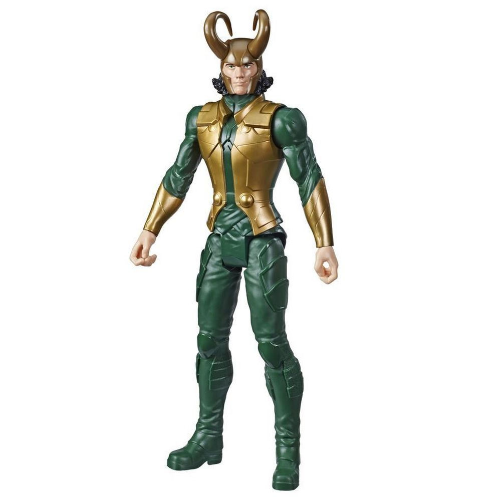 Boneco Titan Hero Series Blast Gear Marvel Vingadores Loki - Hasbro