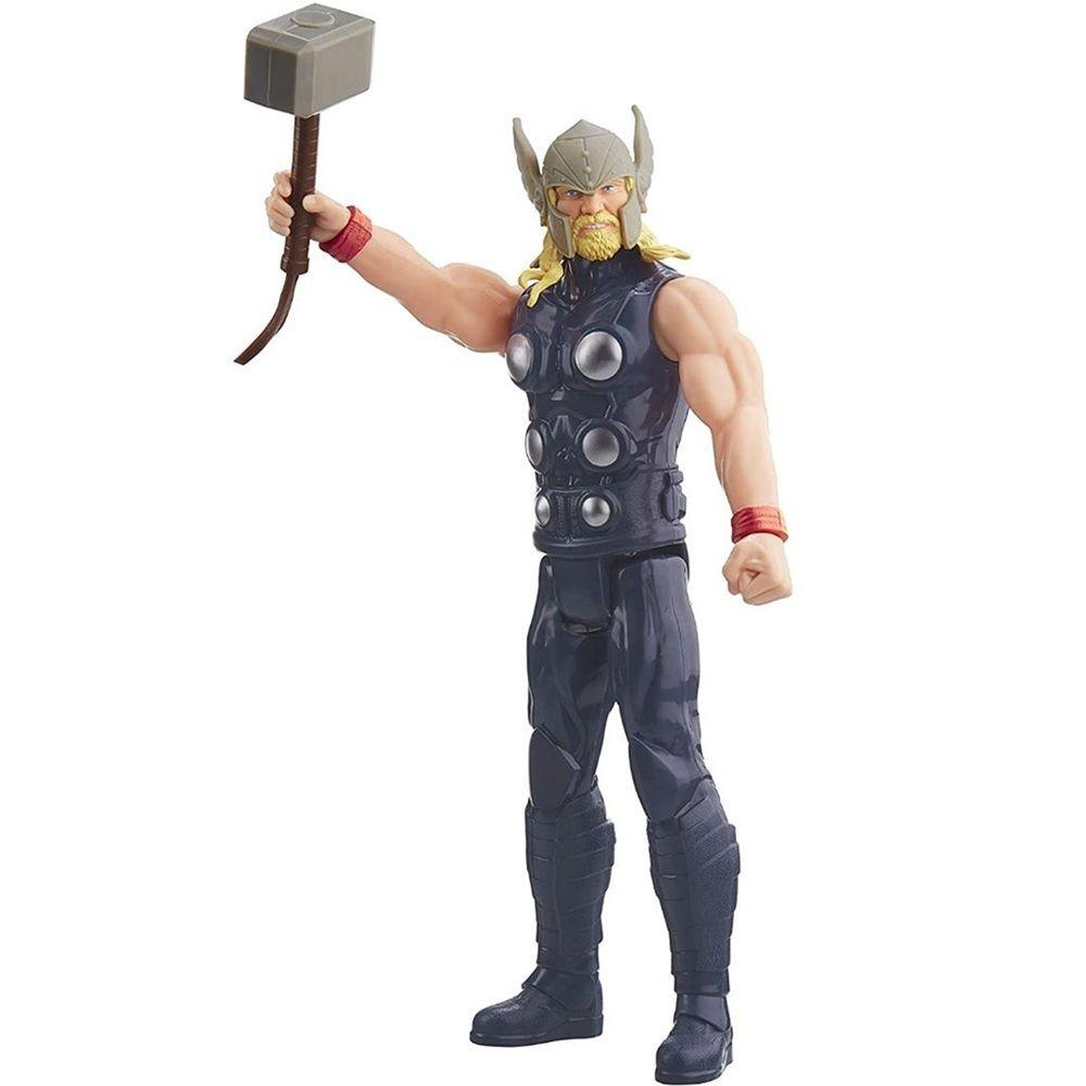 Boneco Titan Hero Series Blast Gear Marvel Vingadores Thor - Hasbro