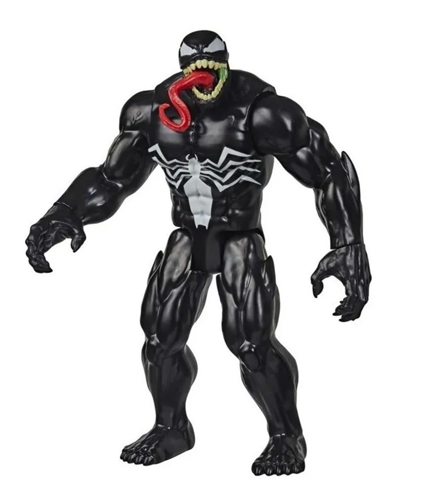 Boneco Titan Hero Series Blast Gear Maximum Venom Marvel Homem Aranha Venom - Hasbro