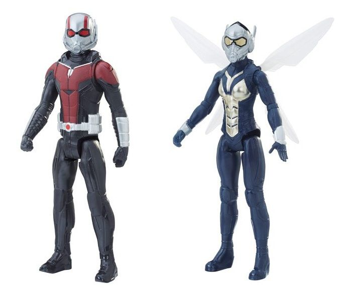 Boneco Titan Hero Series Marvel Ant-Man And The Wasp - Hasbro