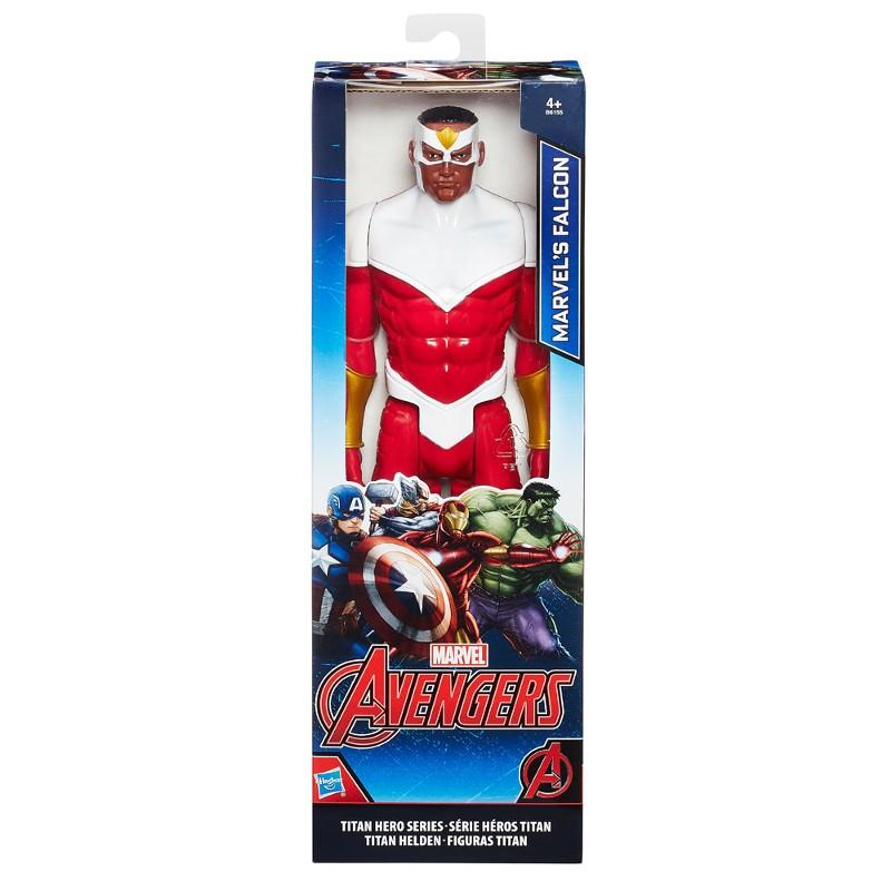 Boneco Articulado Titan Hero Series Marvel Avengers Marvel`s Falcon 30cm - Hasbro