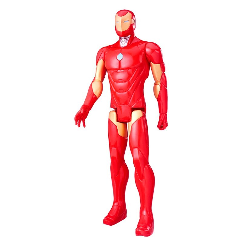 Boneco Titan Hero Series Marvel Avengers Iron Man - Hasbro