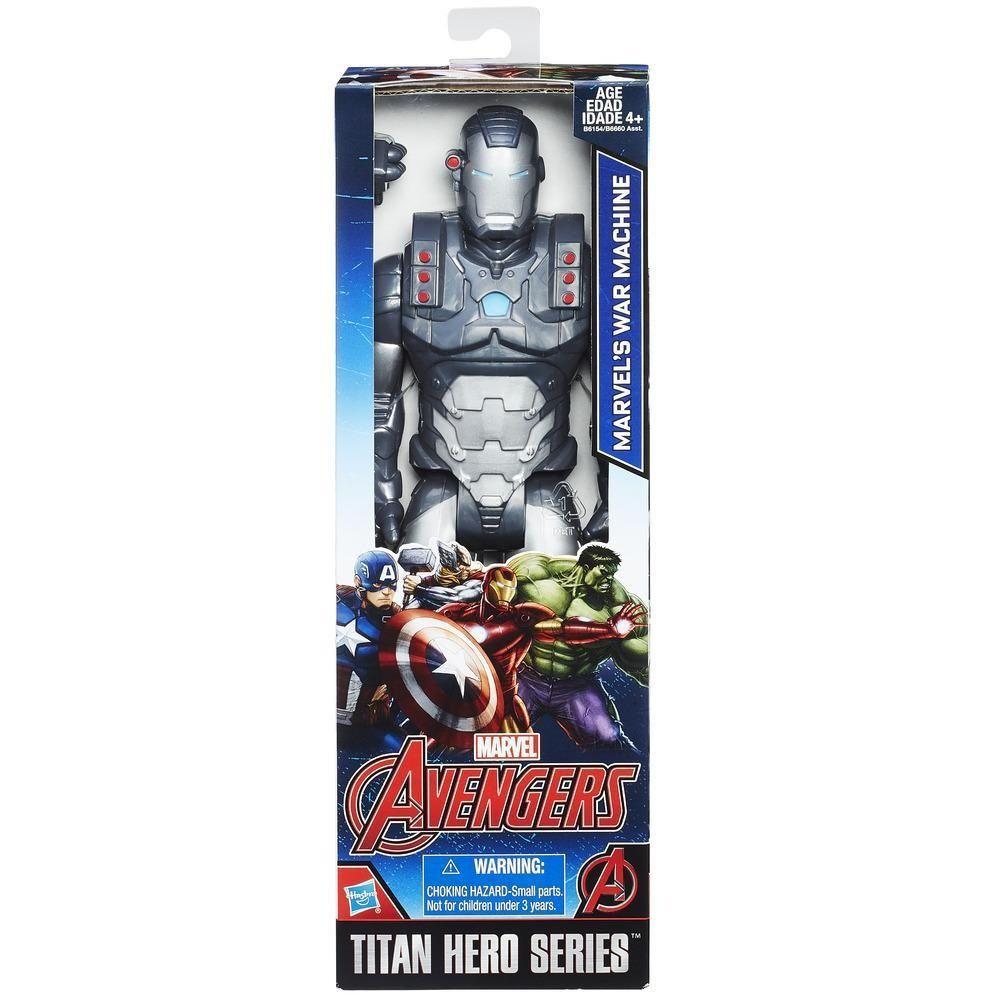 Boneco Titan Hero Series Marvel Avengers Machine War - Hasbro