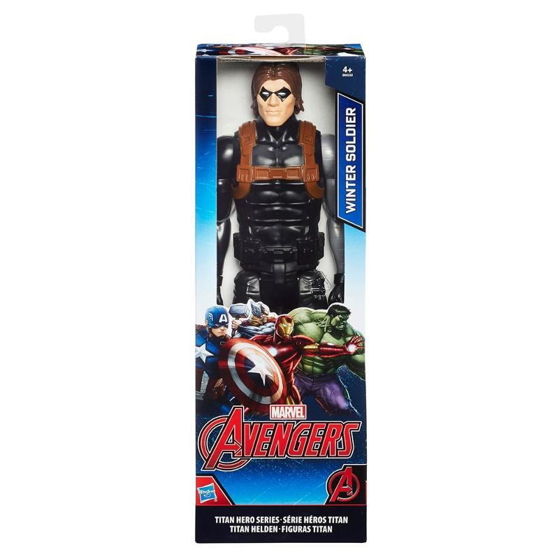 Boneco Titan Hero Series Marvel Avengers Soldado Invernal - Hasbro