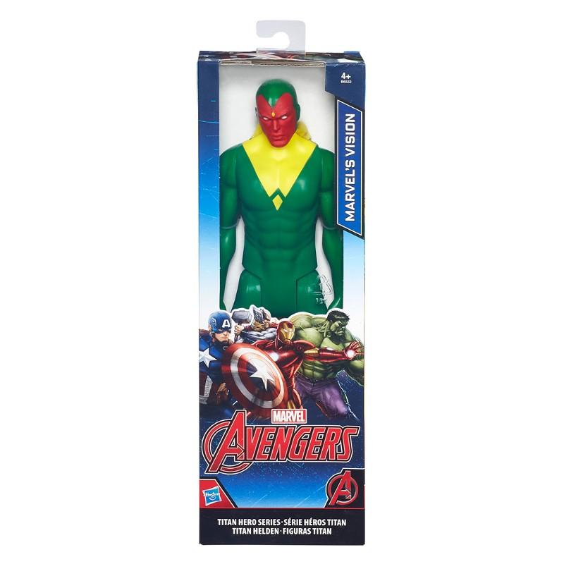 Boneco Titan Hero Series Marvel Avengers Visão - Hasbro
