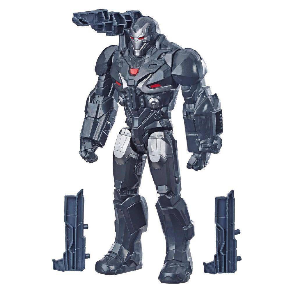 Boneco Titan Hero Series Power FX Marvel Avengers Máquina de Guerra - Hasbro