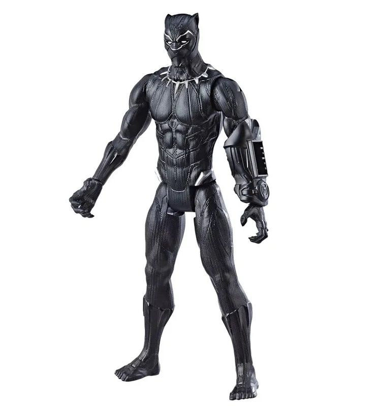 Boneco Titan Hero Series Power FX Marvel Avengers Pantera Negra - Hasbro