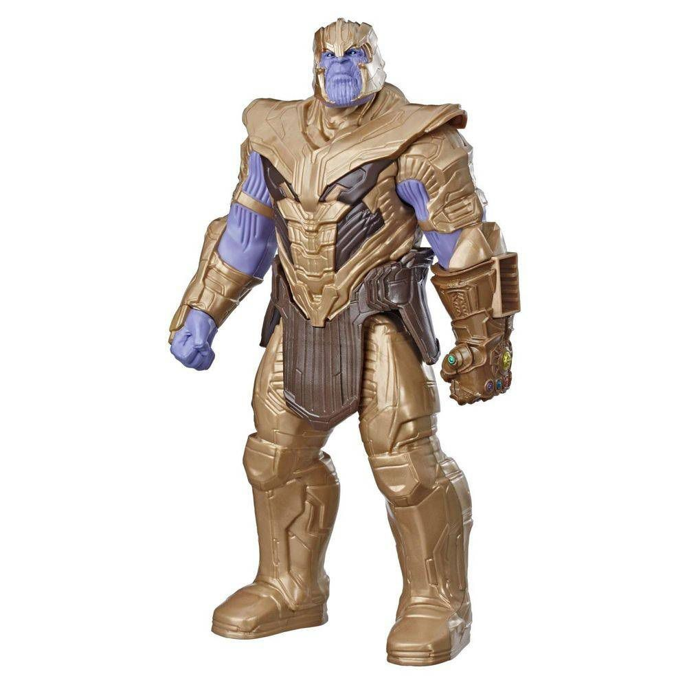 Boneco Titan Hero Series Power FX Marvel Avengers Thanos - Hasbro