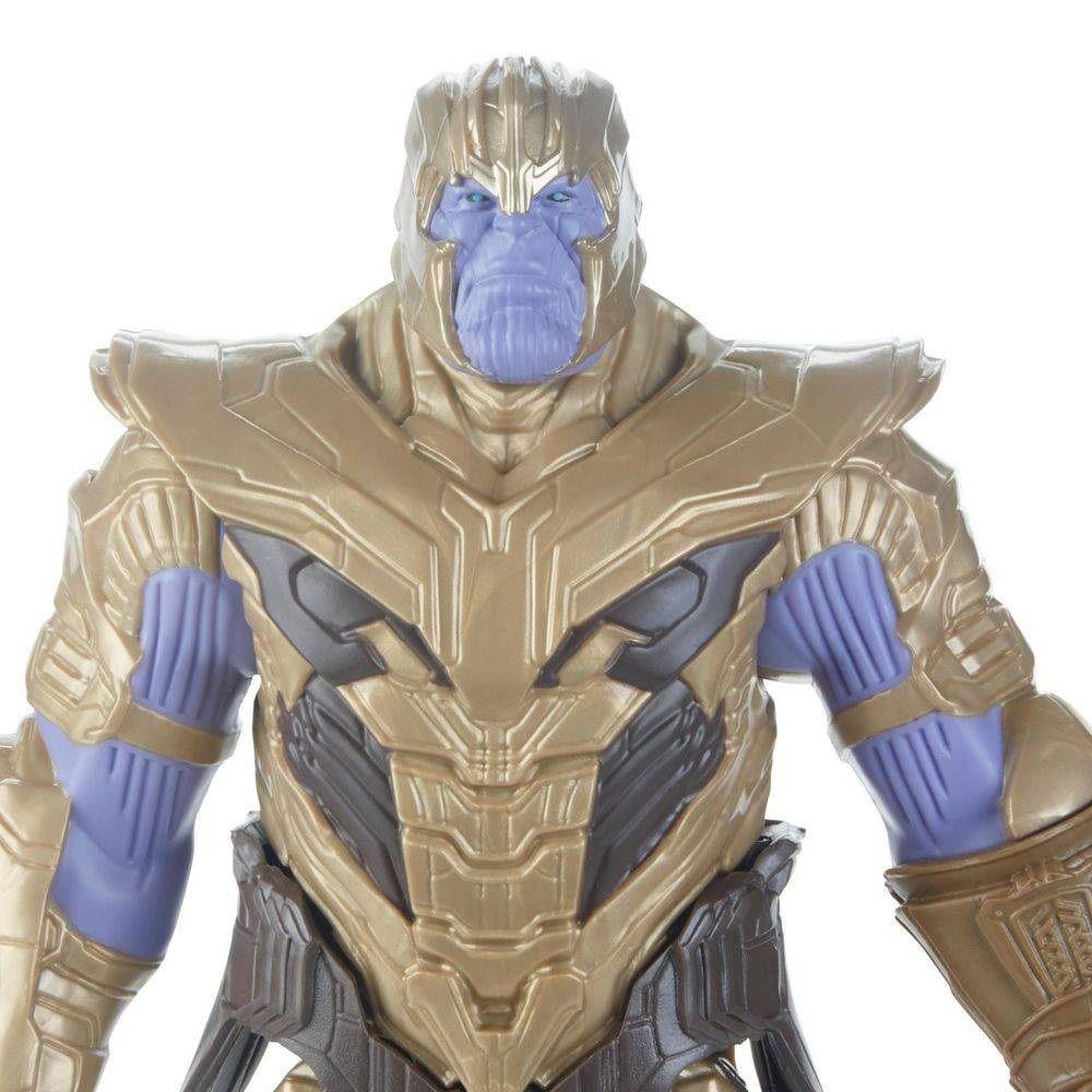 Boneco Titan Hero Series Power FX Marvel Avengers Thanos - Hasbro