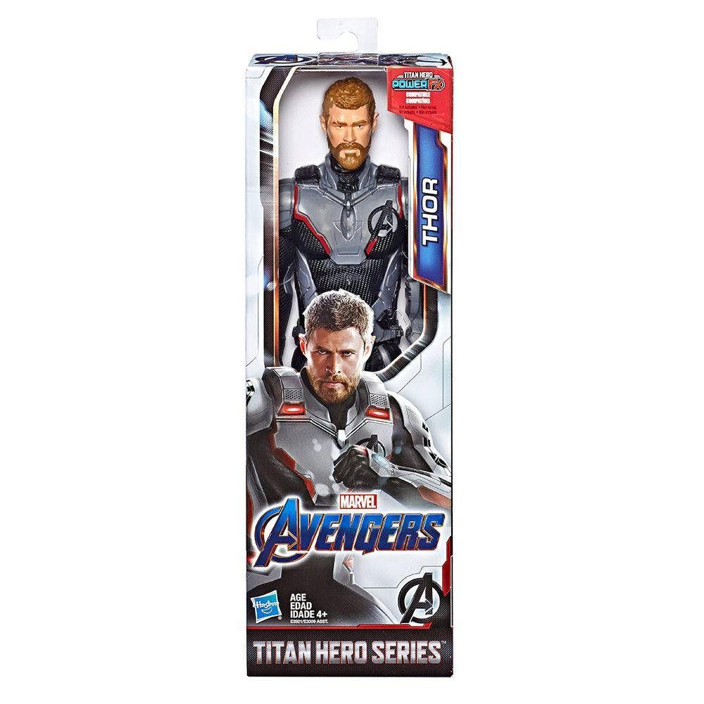 Boneco Titan Hero Series Power FX Marvel Avengers Thor - Hasbro