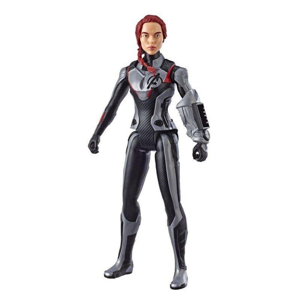 Boneca Titan Hero Series Power FX Marvel Avengers Viúva Negra - Hasbro