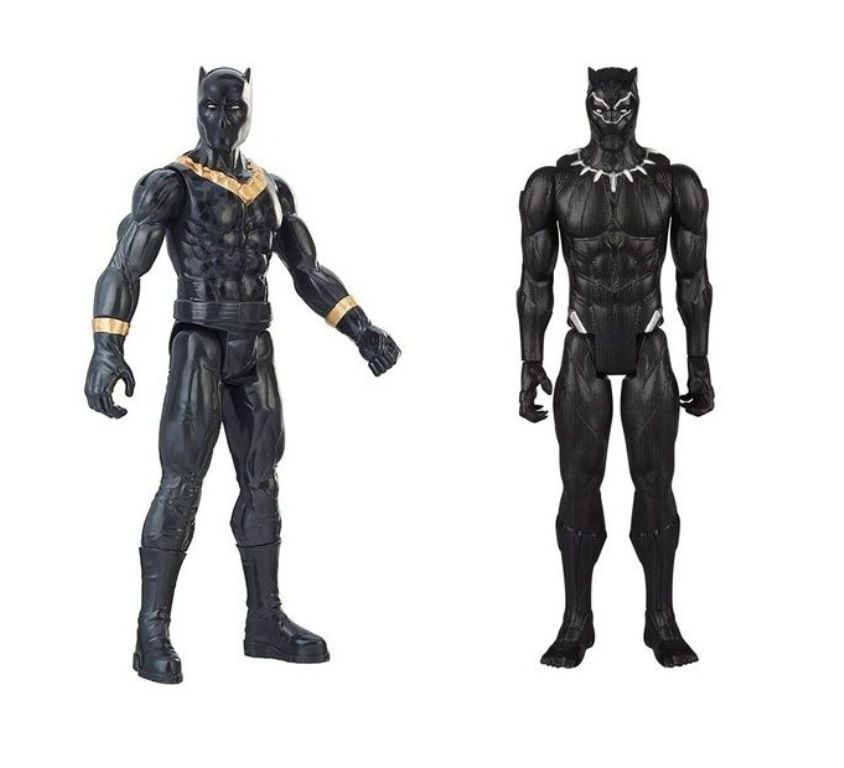 994b3d78ba Boneco Titan Hero Series Power FX Marvel Pantera Negra - Hasbro - Descalshop  ...