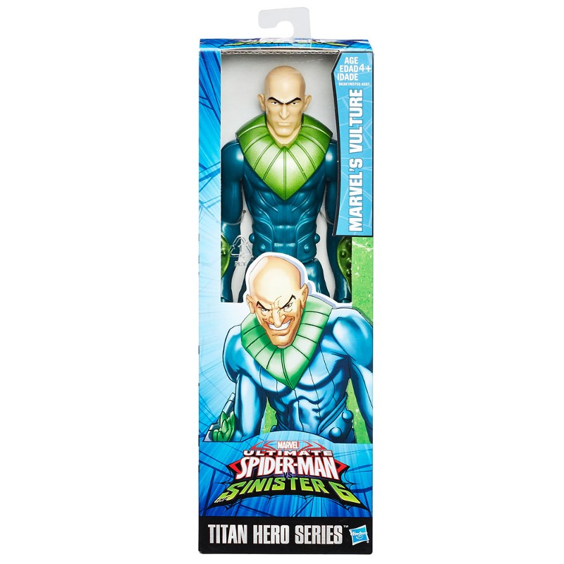 Boneco Titan Hero Series Ultimate Spider-Man Vs Sexteto Sinistro Marvel Vulture - Hasbro