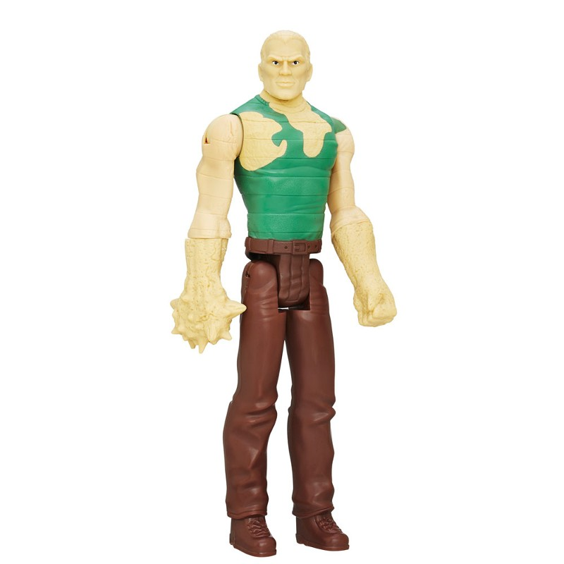 Boneco Titan Hero Series Ultimate Spider-Man Vs Sexteto Sinistro Sandman - Hasbro