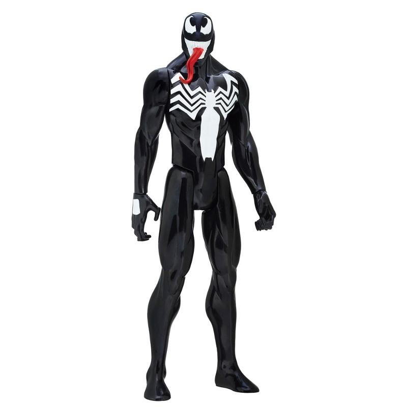 Boneco Titan Hero Series Ultimate Spider-Man Vs Sexteto Sinistro Venon - Hasbro