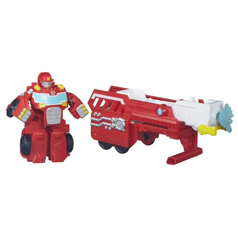 Boneco Transformers Rescue Bots Heatwave Caminhão Bombeiro - Hasbro