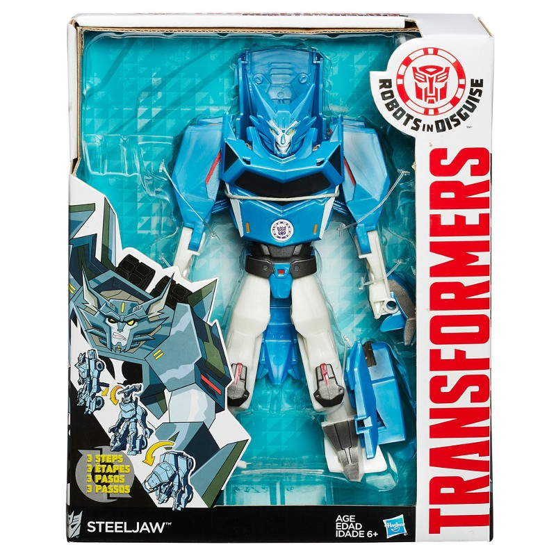 Boneco Transformers Robots In Disguise Steeljaw - Hasbro