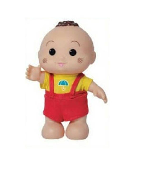 Boneco Turma da Mônica Iti Malia Cascão - Baby Brink