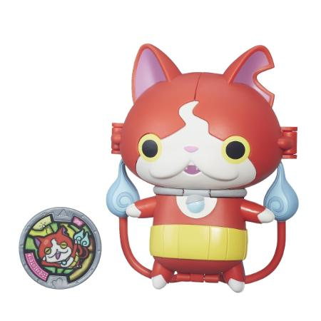 Boneco Yo-kai Watch Jibanyan Transformavel + Medalha - Hasbro