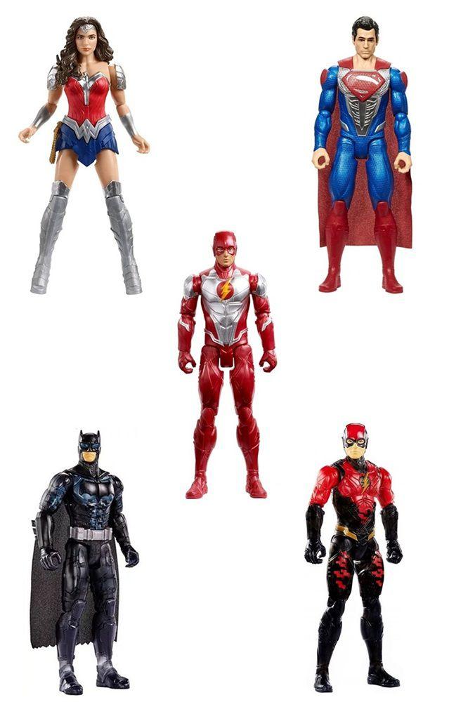 Bonecos Articulados DC Comics Liga da Justiça - Mattel