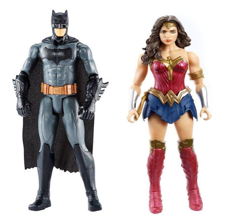 Bonecos Articulados Liga da Justiça - Mattel