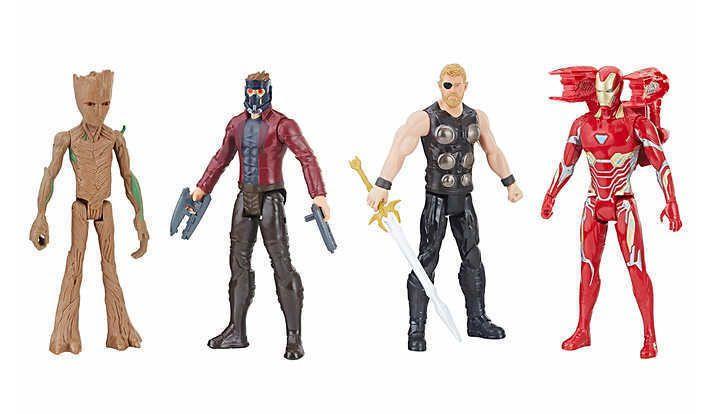 Bonecos Avengers Infinity War Power FX com 04 - Hasbro
