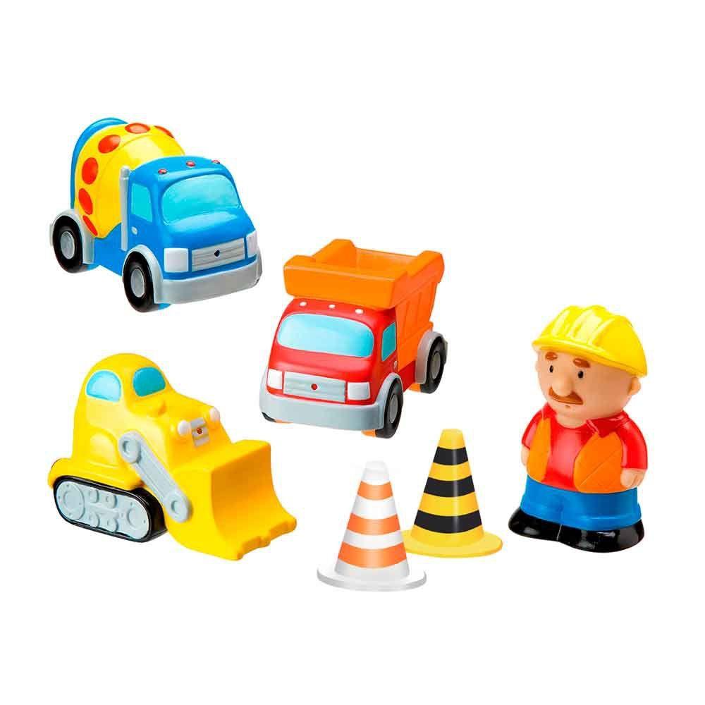 Bonecos de Vinil Construção - Lider Brinquedos