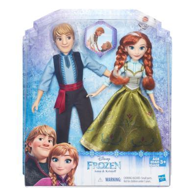 Bonecos Frozen Anna e Kristoff - Hasbro