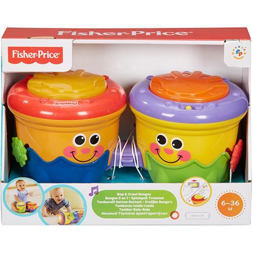 Bongô Rola Rola 2 em 1 - Fisher-Price