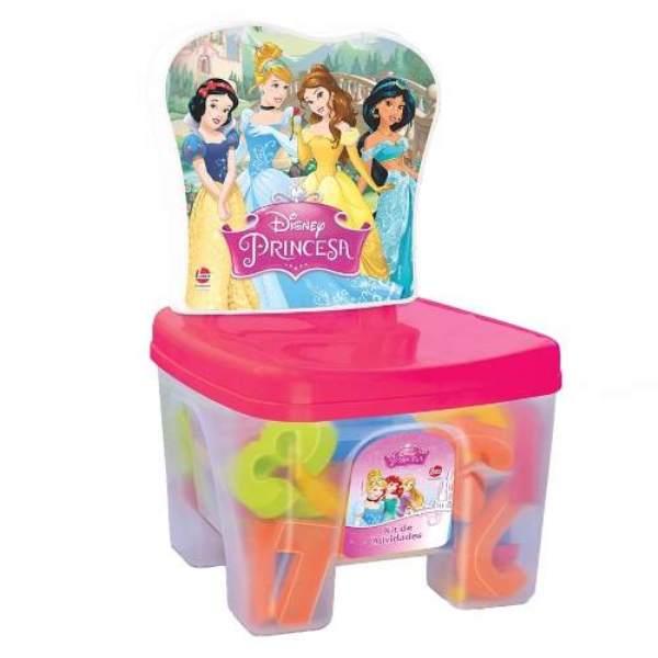 Cadeira Educa Kids Princesas Disney 44 Peças - Lider