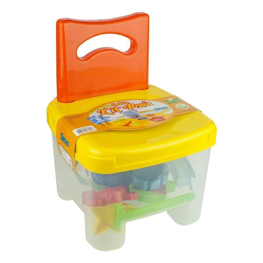 Cadeira Kit Praia Sortidas - Simo Toys