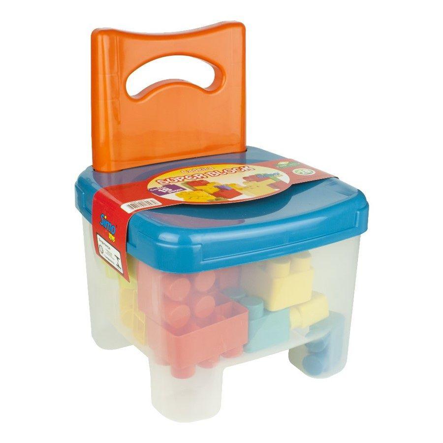 Cadeira Super Block - Simo Toys