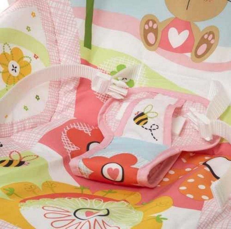 Cadeirinha de Descanso Minha Infância Rosa - Fisher-Price