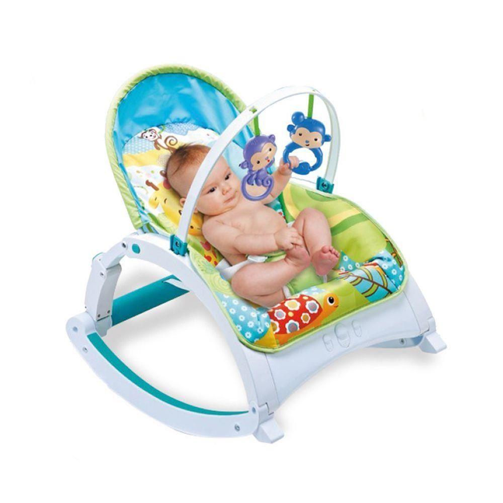 Cadeirinha de Descanso Multifuncional Portátil Cadeira Conforto com Som - Zoop Toys