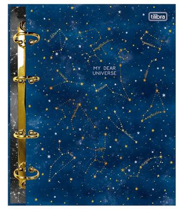 Caderno Argolado Cartonado Colegial Magic - Tilibra