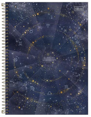 Caderno Espiral Capa Dura Universitário 10 Matérias Magic - Tilibra