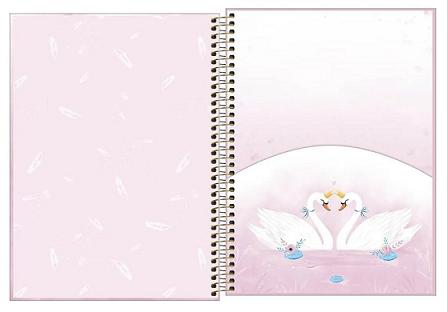 Caderno Espiral Capa Dura Universitário 10 Matérias Royal - Tilibra