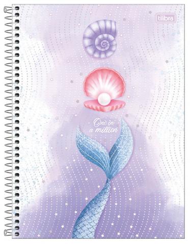 Caderno Espiral Capa Dura Universitário 12 Matérias Wonder - Tilibra