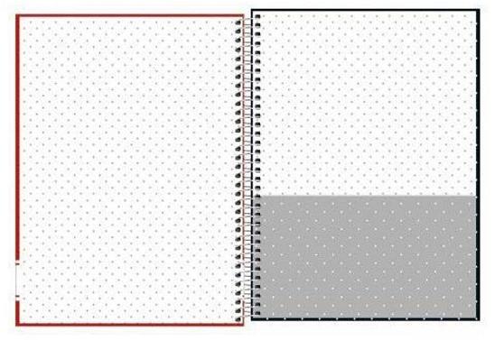 Caderno Espiral Capa Dura Universitário 16 Matérias Academie Poá - Tilibra
