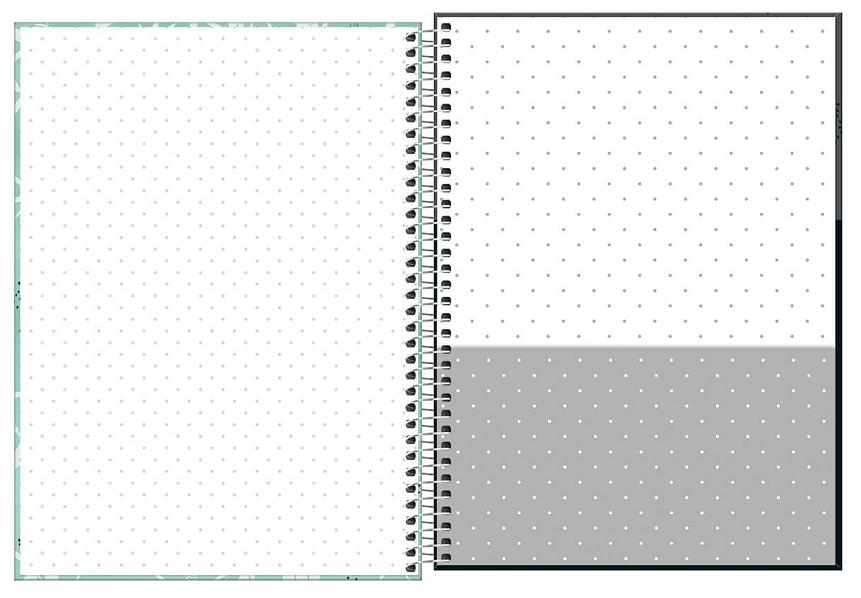 Caderno Espiral Capa Dura Universitário 1 Matéria Lovely Friend - Tilibra