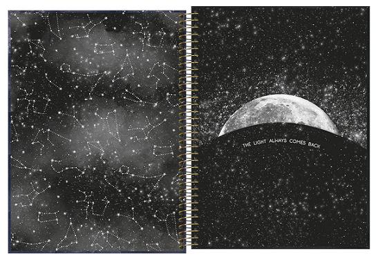 Caderno Espiral Capa Dura Universitário 1 Matéria Magic - Tilibra