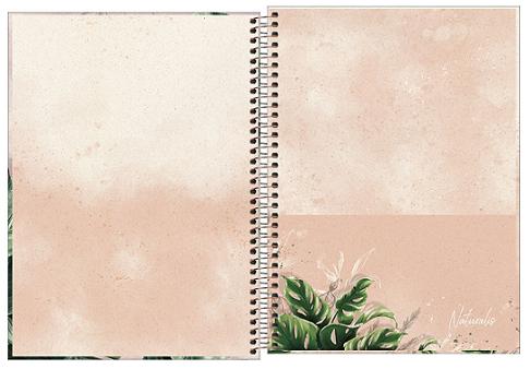 Caderno Espiral Capa Dura Universitário 1 Matéria Naturalis - Tilibra