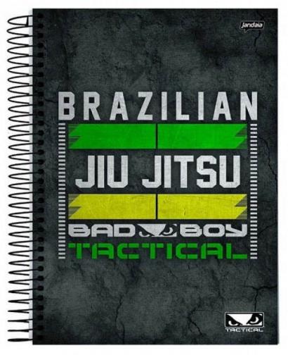 Caderno Espiral Capa Dura Universitário 20 Matérias Bad Boy - Jandaia