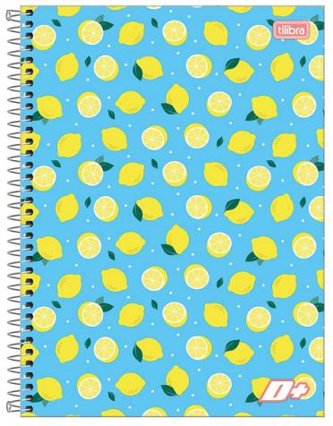 Caderno Espiral Capa Dura Universitário 20 Matérias D+ - Tilibra