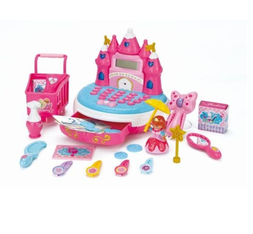 Caixa Registradora Princesa Castelo - Fenix Brinquedos