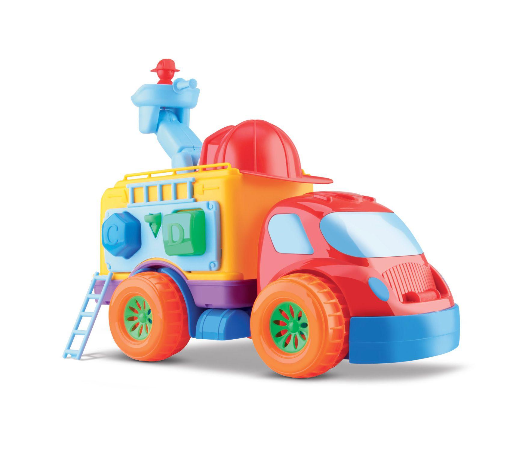 Caminhão Diver For Baby Bombeiro - Diver Toys